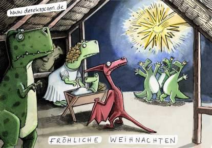 Weihnachtskarte Derek Roczen