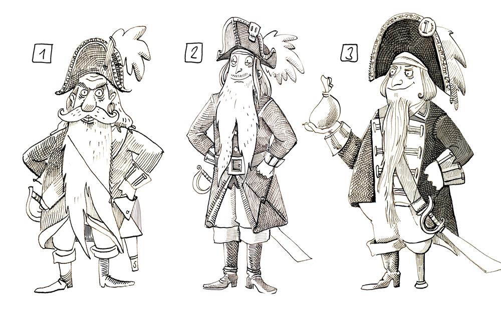 PirateCaptainSketches
