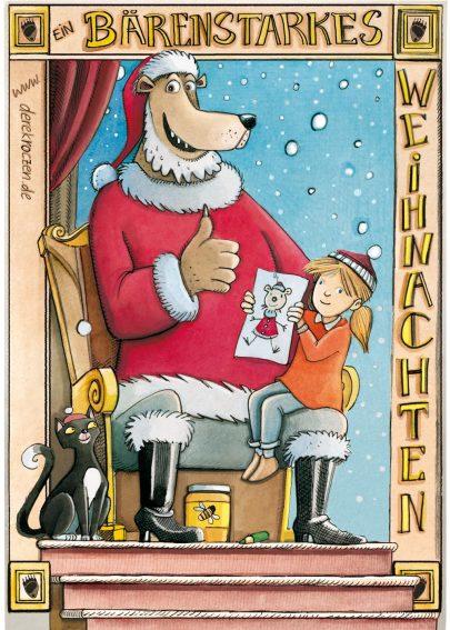 weihnachtskartevorderseite