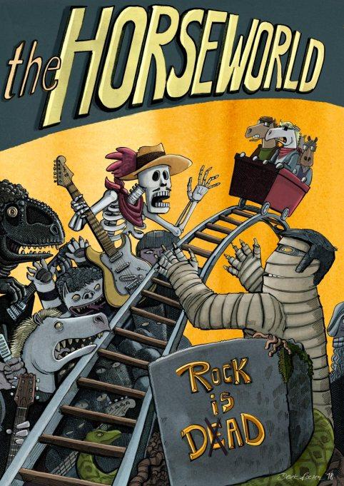Horseworld Band Poster